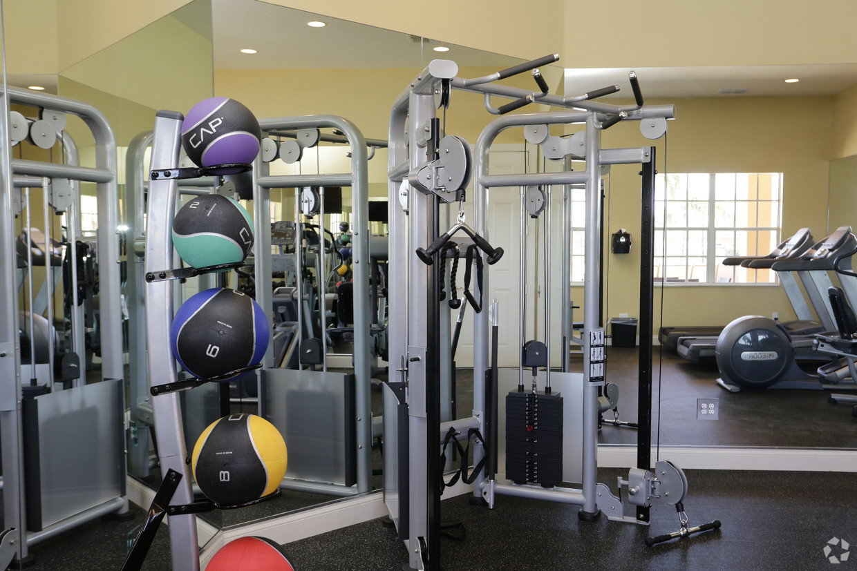 Fitness Center - Weights Station